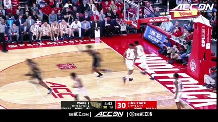 Wake Forest vs. NC State Basketball Highlights (2018-19)