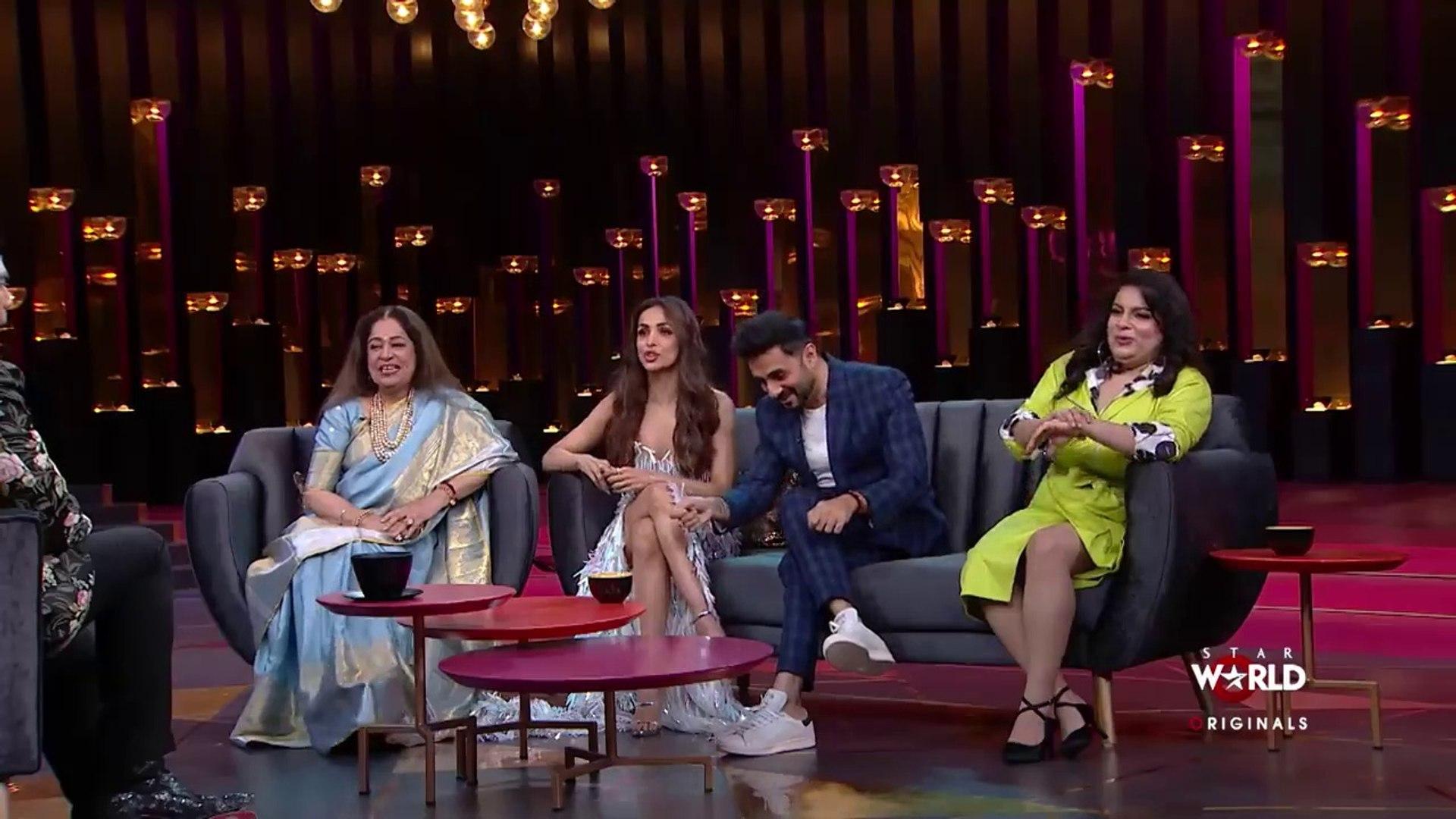 Koffee With Karan Season 6 Episode 20 - Kiran Kher & Malaika Arora