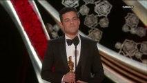 """""""Je n'étais pas le choix le plus évident """" Ramy Malek gagne le prix du Meilleur Acteur- Oscars 2019"""