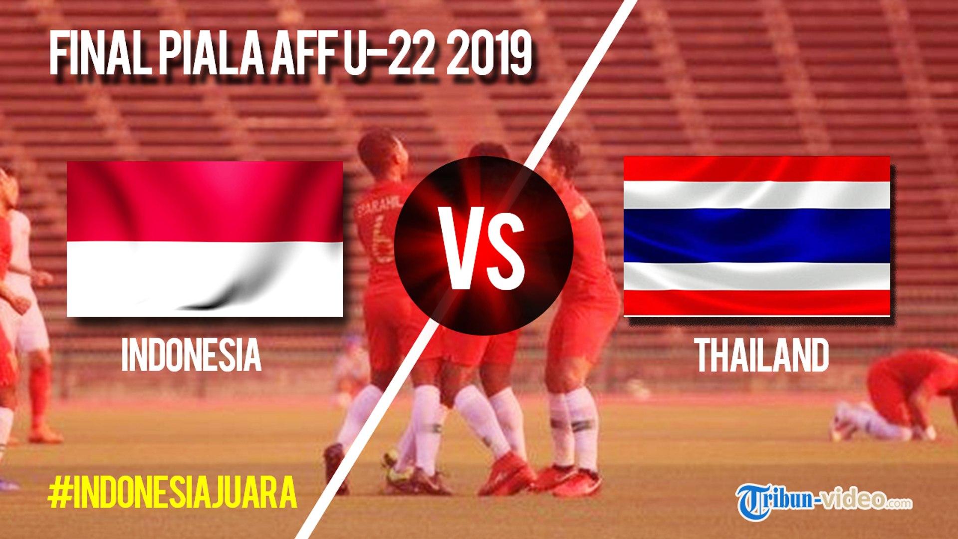 Jadwal Laga Final Piala AFF U-22 Indonesia Vs Thailand, Selasa Pukul 18.30 WIB
