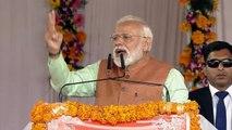 PM Modi ने Congress की कर्जमाफी पर कही ऐसी बात, लगे मोदी-मोदी के नारे | वनइंडिया हिंदी
