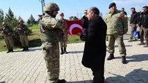 Şırnak Valisi Aktaş, Irak ve Suriye sınırında incelemelerde bulundu