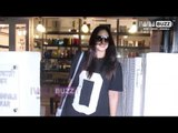Huma Qureshi spotted at a salon
