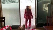 Quand il neige aux USA, il neige fort... même dans les montagnes de californie