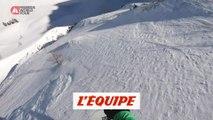 Le run gagnant de Victor de Le Rue à Fieberbrunn - Adrénaline - Snowboard freeride