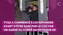 PHOTOS. Tyga, l'ex de Kylie Jenner, se fait violemment éjecter d'une soirée par un garde du corps