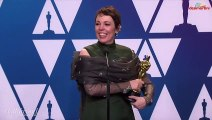 "Olivia Colman Doesn't Know ""What to Do With Herself"" After Best Actress Win"