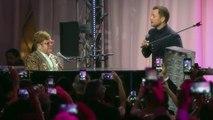 Rocketman verrassingsoptreden Elton John en Taron Egerton. - Rocketman Film