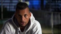 Nick Kyrgios talks after thrilling win over Rafael Nadal at Mexican Open