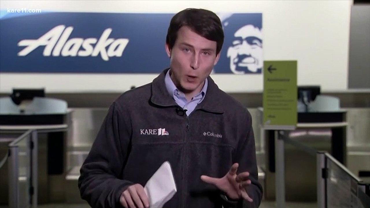 Alaska Airlines flight diverts after belligerent