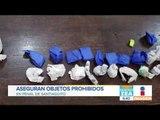 Aseguran objetos prohibidos en Penal de Santiaguito | Noticias con Francisco Zea