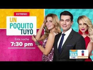 Entrevista con el elenco de Un Poquito Tuyo | Noticias con Francisco Zea