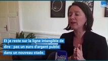 Les réponses de Johanna Rolland après l'abandon du projet de nouveau stade à Nantes