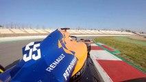 VÏDEO: Carlos Sainz pilota el McLaren MCL34 en Barcelona