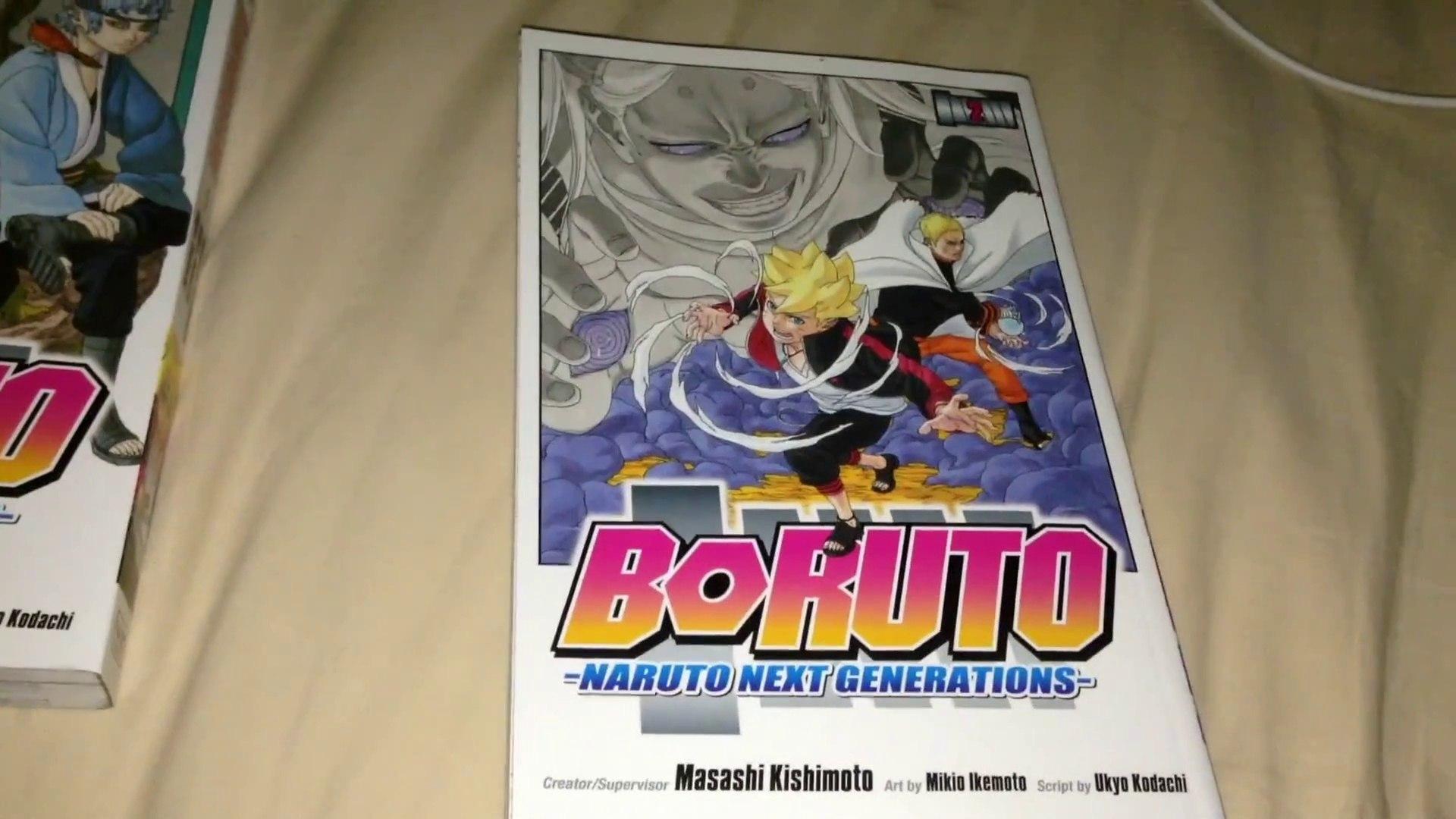 Boruto: Naruto the Next Generations Manga Vol  2 Unboxing