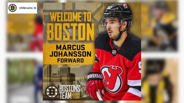NHL Trade Deadline: Bruins Acquire Marcus Johansson