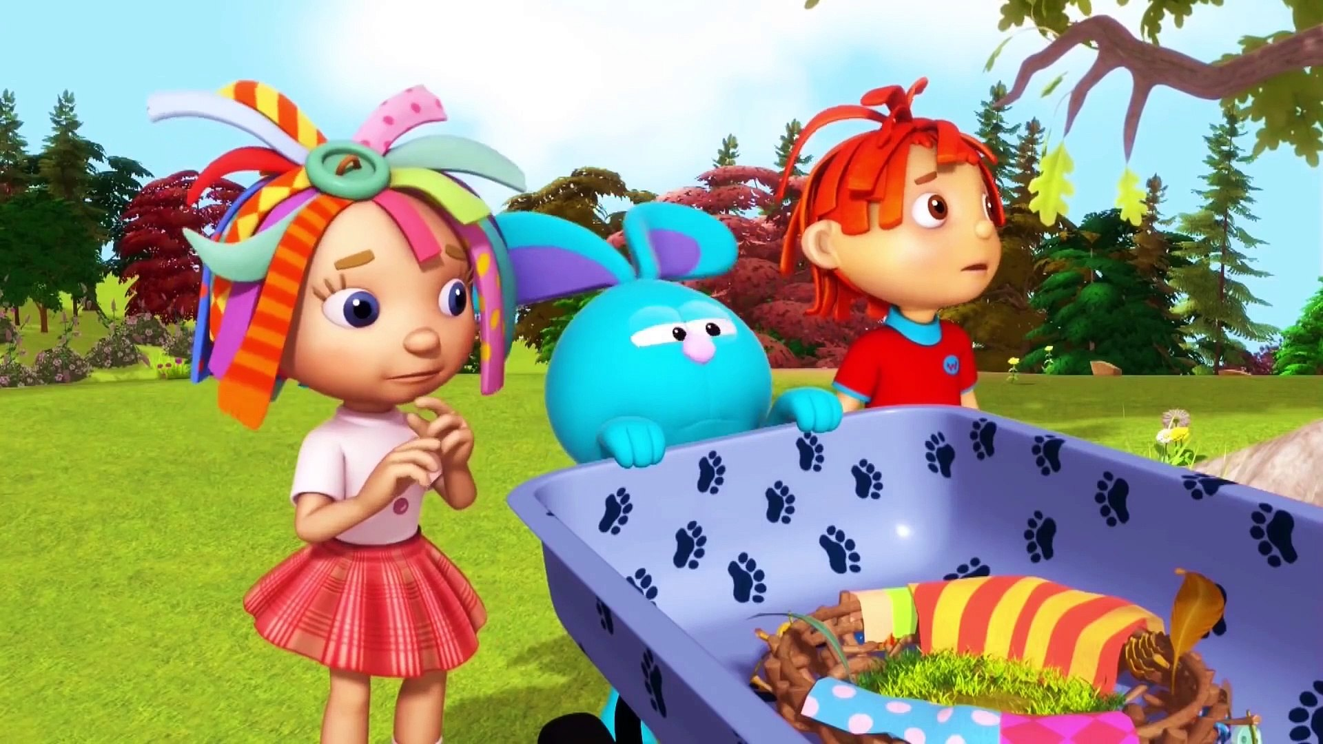 Everythings Rosie | The Greatest Show In The Garden | cartns for Kids |   Happy Kids
