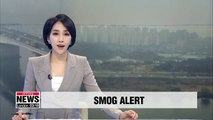 Smog from China triggers fine dust alert