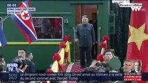 Kim Jong Un est arrivé au Vietnam à la veille de sa rencontre avec Donald Trump