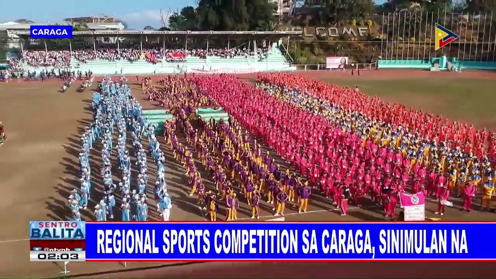 SPORTS BALITA: Regional sports competition sa CARAGA, sinimulan na
