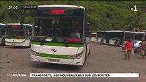 Transport en commun : 19 bus flambant neufs