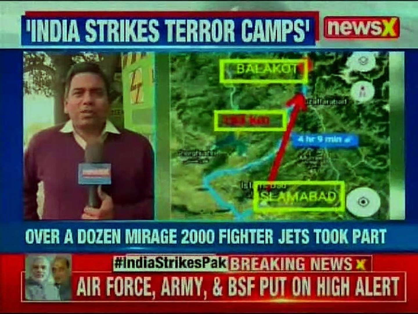 Indian Air Force Strike on Pakistan LIVE: 3 JeM terrorist camps in Pak scrambled to avenge Pulwama