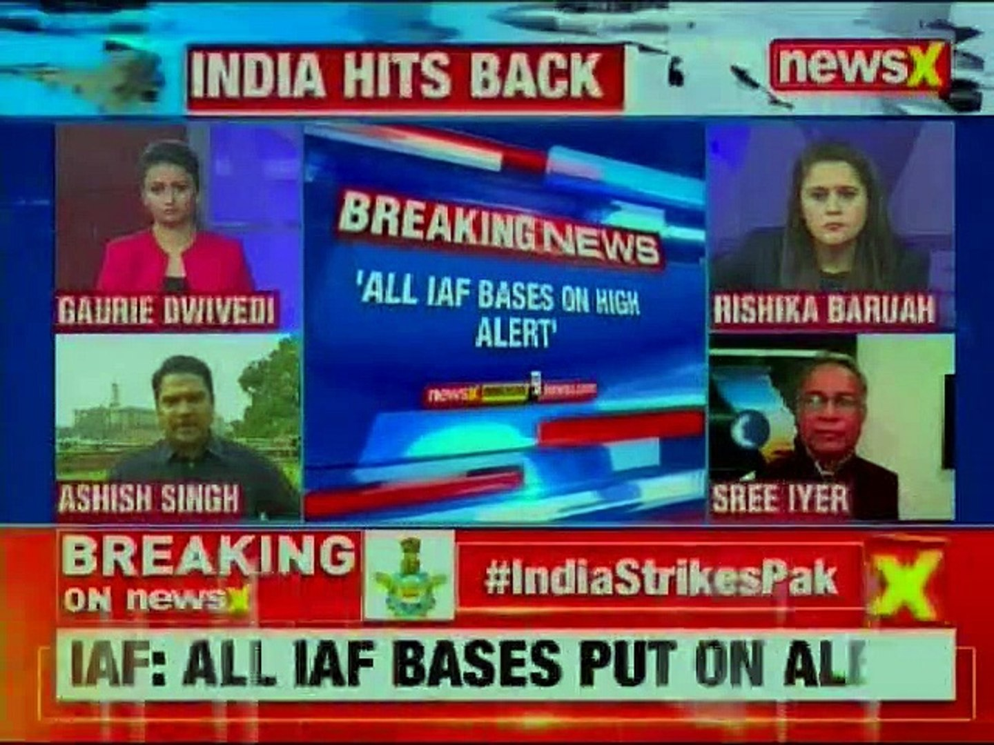 Indian Air Force Strike on Pakistan LIVE: Pakistani F16s turned back due to size of IAF formation