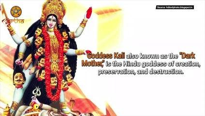 Kali- The Dark Mother Goddess in Hinduism -  महाकाली - Anth Hi Arambh Hai