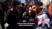 """En larmes, deux italiens victimes de prêtres pédophiles témoignent dans """"C à vous"""""""