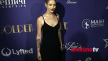 Friday Chamberlain 2019 Golden Soiree Pre-Oscar Party Red Carpet