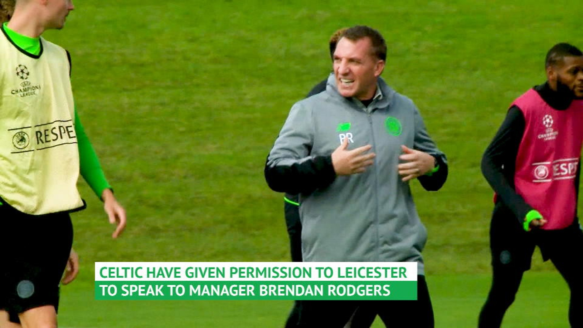 Celtic boss Rodgers in talks with Leicester