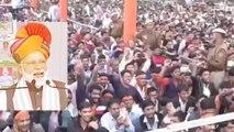 After air strike, Public raises Modi-Modi slogans during PM Modi's rally in Churu   Oneindia News