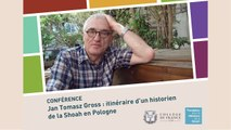 Conférence de Jan Tomasz Gross  au Collège de France