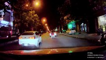 Car Sideswipes Motorbike