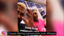 Choupo Moting s'amuse bien avec Mbappé, Alves en voyage avec sa chérie à Londres