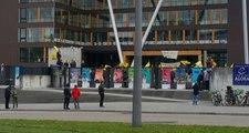 Terör Örgütü Yandaşlarının Avrupa Konseyi Binasına Saldırdığı Anların Görüntüsü Ortaya Çıktı