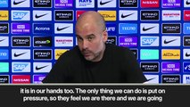 Guardiola says he doesn't want 'excuses about tiredness' ahead of EPL match against West Ham