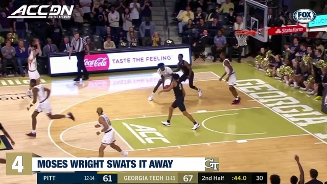 Top 5 Plays of the Week   ACC Basketball (February 26)