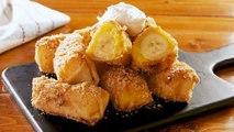 These Banana Pudding Egg Rolls >>> Literally Any Other Dessert