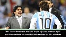 La Liga - Redondo compare Maradona et Messi
