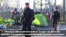 Calais: les évacuations de campements de migrants continuent
