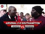 Arsenal 2-0 Southampton   Arsenal Play Their Best Football In A 4-3-3 (Kenny Ken)