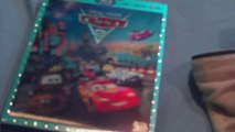 Cars 2 blu-ray dvd unboxing review official movie Walt