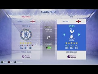 Chelsea v Tottenham | Predicted Line Up | FIFA Match Preview