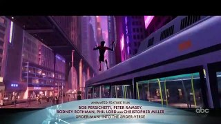 SPIDER-MAN_ INTO THE SPIDER-VERSE Accepts the Oscar for Animated Feature Film