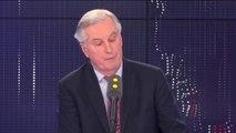 """""""Ce qui m'importe, c'est que mon mouvement clarifie sa ligne"""" sur l'UE, dit Michel Barnier à propos du parti Les Républicains"""