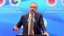 """Bakan Gül: """"Adaletin Alternatifi Yok"""""""