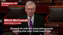 Mitch McConnell Blames North Carolina Election Fraud That Benefited Republicans On Democrats