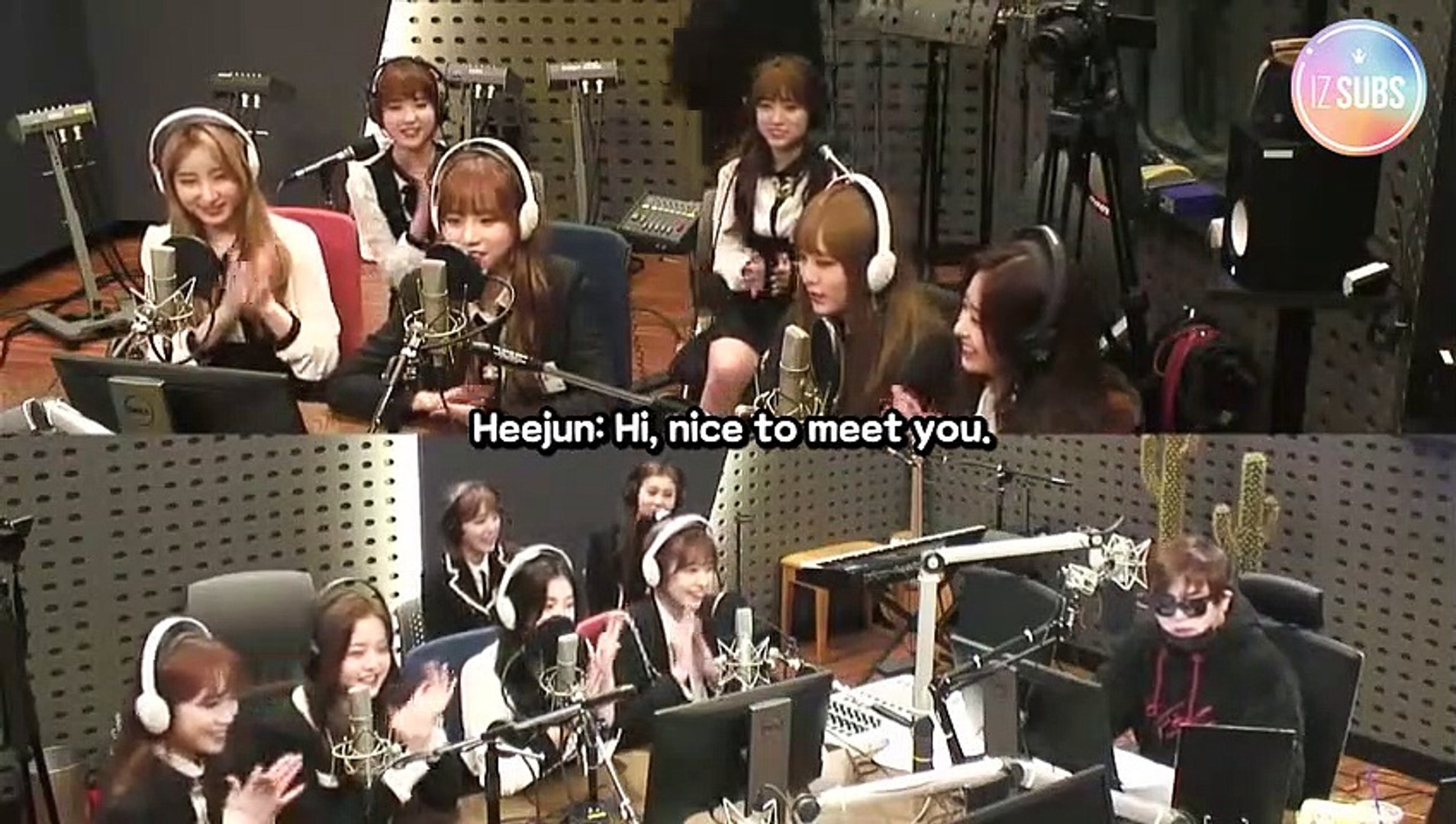 [ENG SUB] 181114 IZ*ONE KBS Cool FM - Moon Hee Jun's Music Show