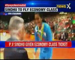#OlympicHeroInsulted_ PV Sindhu given economy ticket, father booked business class